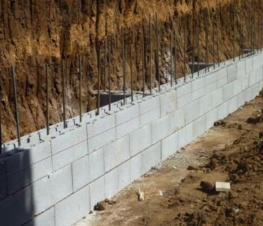 Muratura armata bellucci bloc for Piccola casa costruita su fondamenta